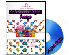 Kit Scrapbook Digital - Pocoyo