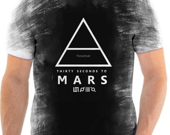 Camisa Camiseta Personalizada Rock 30 Seconds to Mars 6