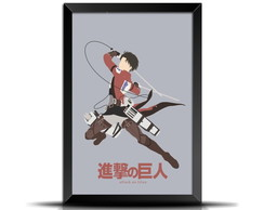 Quadro Poster Minimalista Attack on Titan GM016