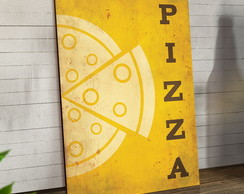 Placas Decorativas Em Mdf 20x30 Pizza Minimalista