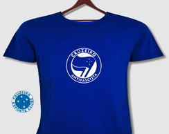 Camisa Cruzeiro antifascista Plus Size