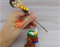 Caneta Decorada Harry Potter