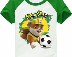 Camiseta copa do mundo Rubble