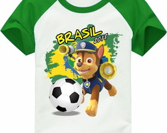 Camiseta copa do mundo Chase