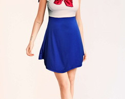 Vestido Sailor Moon Infantil Adulto Fantasia