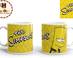 Caneca The Simpsons Bart