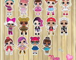 Aplique LOL Surprise Série 1 3,8cm N483