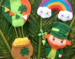 St. Patricks Day - Molde Digital - Apostila de Feltro
