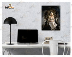 PLACA DECORATIVA PVC - GOT DAENERYS- 20 x 30cm
