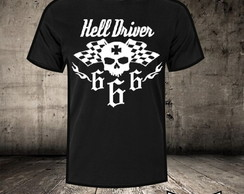 Camiseta Hell Driver Flag