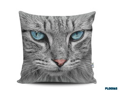 Almofada 40x40 Cat Gato Pet Love