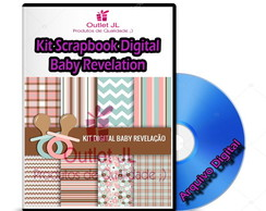 Kit Scrapbook Digital - Baby Revelation