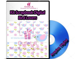 Kit Scrapbook Digital - Bird Lovers