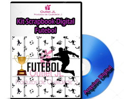 Kit Scrapbook Digital - Futebol