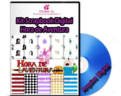 Kit Scrapbook Digital - Hora de Aventura
