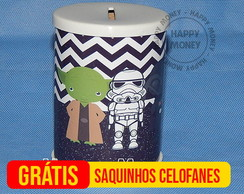 Cofrinho Star Wars