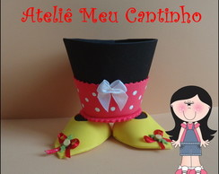 Porta doces minnie/ mickey