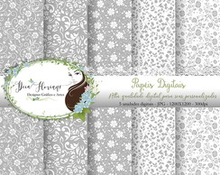 Papel Digital Casamento paper kit 1