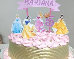 Topper Princesas Disney