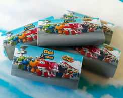 Chicletes Personalizados Super Wings