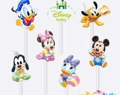 Tag no Palito Disney Baby