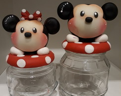 Potes Minnie e Mickey