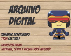 Paper Toy 3D DIGITAL Cyclops X-Men