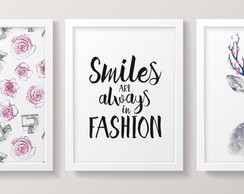 03 Quadros | Smiles Fashion