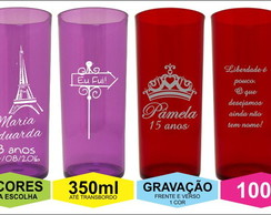 Copo Long Drink 350ml - 15 anos