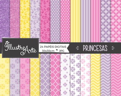 Papel Digital Princesas