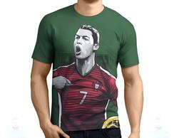 8ca2a1d29a Camisa Camiseta Cristiano Ronaldo Cr7 Portugal