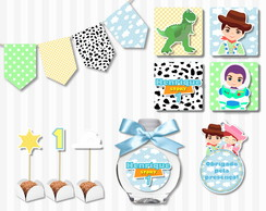 Kit Digital Festa Personalizada Mini Party Toy Story cute
