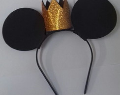 TIARA DO MICKEY COM COROA