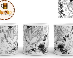 Caneca Dragon Ball - Manga