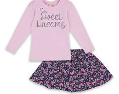 Conjunto Saia Sweet Dreams
