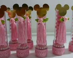 Tubetes Minnie rosa luxo