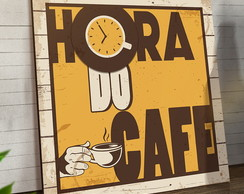 Placas Decorativas Em Mdf 20x30 Hora Do Coffee
