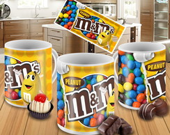 Caneca Chocolate m&m's - Mod.02