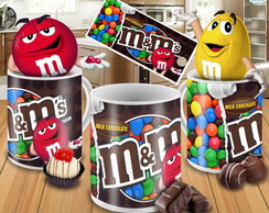 Caneca Chocolate m&m's - Mod.01