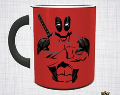 Caneca Porcelana Deadpool Marvel