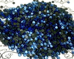 Strass 3mm Azul Saphire.