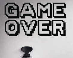 Adesivo Game Over