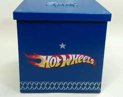 Caixa Hot Wheels 20x20x20cm