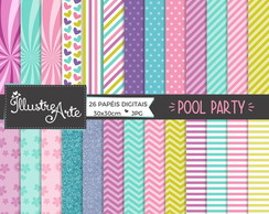 Papel Digital Pool Party