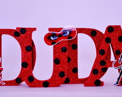 Letras MDF Decorada