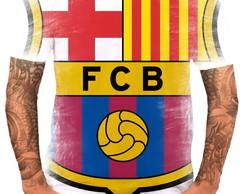7da8b94897 Camisa Camiseta Personalizada Time de Futebol Barcelona 02