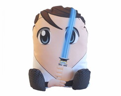Almofada Decorativa Pillowtoy Luke Skywalker Star Wars