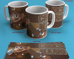 Caneca Super Mario Chocolate