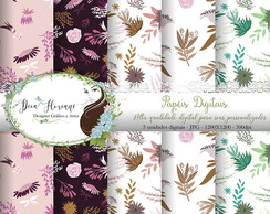 Papel Digital Floral Papers 5