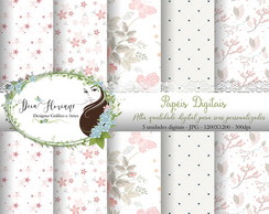 Papel Digital Floral Papers 6